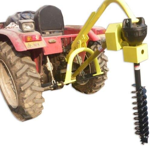 Titan Attachments 60 HP 3 Point PTO Post Hole Digger Attachment w/Auger