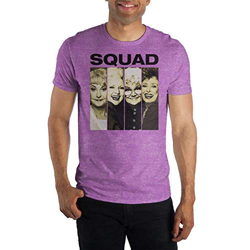 Bioworld The Golden Girls Squad Photos T-Shirt Licensed, 4 Colors, S to 3XL