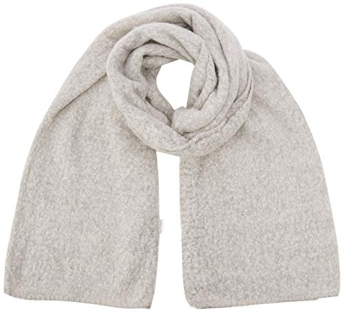 ONLY Damen ONLLIMA Knit Long Scarf Acc NOOS Schal, Grau (Moonbeam Moonbeam), (Herstellergröße: One Size)