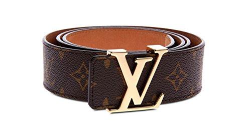 "KcsyKn fashion leather metal buckle belt (30""-33""(105cm))"