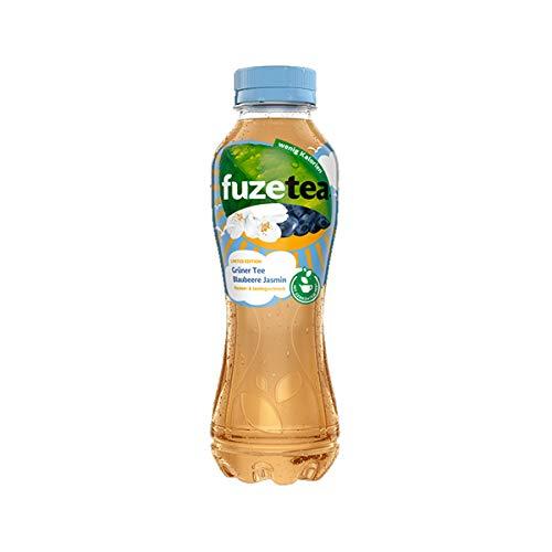 Fuze Tea Grüner Tee mit Blaubeere und Jasmin kalorienarm 400ml