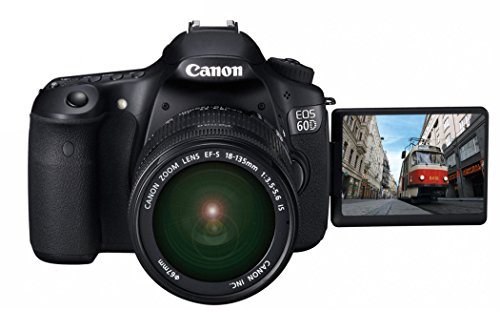 Canon EOS 60D 18 MP CMOS Digital SLR Camera with 18-135mm f/3.5-5.6 IS UD Lens