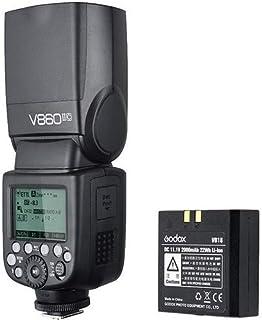 مجموعة فلاش كاميرا ببطارية ليثيوم V860ii-C لجهاز استقبال كانون المدمج 2.4 جيجا من جودوكس