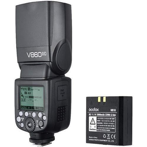 Flash Godox V860ii Com Bateria Li-ion - Para Canon