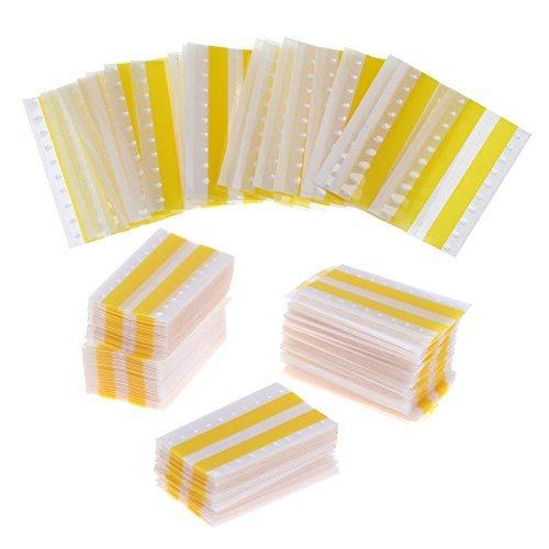Whitelotous Super 8mm Double Face Splice Tape Film Joining Splice Tape Splicing Tape Yellow