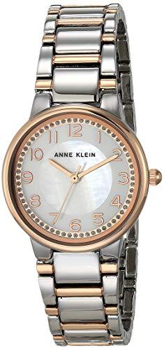 Anne Klein AK/3605 - Reloj de pulsera para mujer con detalles brillantes