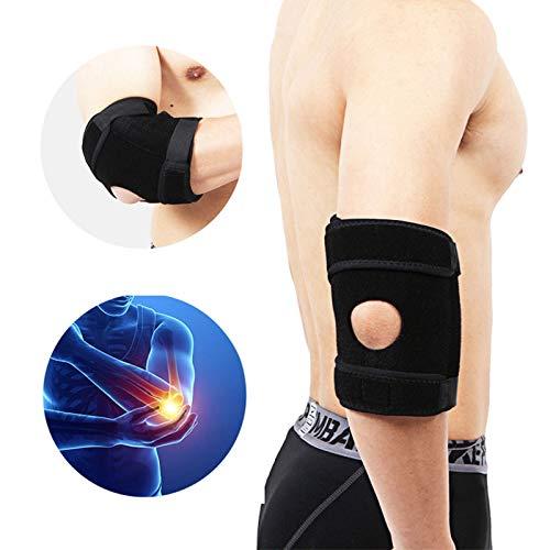 BrilliStar Ellenbogenbandage,Medizinischer Ellenbogenschoner,Ellbogen Bandage Fitness Ellenbogenschutz Neopren Ellbogenschützer Mit Doppelfederstabilisatoren