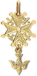 Croix de David Pendentif Mixte Or 18K jaune Orleo REF11936