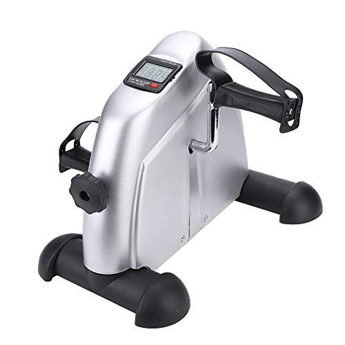 GOTOTOP Mini ejercitador de Pedales Equipado con una tubería de Acero para Monitor 37,5 * 34,5 * 30,5 cm Especialmente para Personas Mayores para Entrenamiento en Interiores y Gimnasio