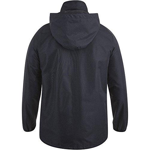Canterbury Pantalon de E583645–989-sm Team zippé Veste de Pluie, Noir/Blanc, Petit