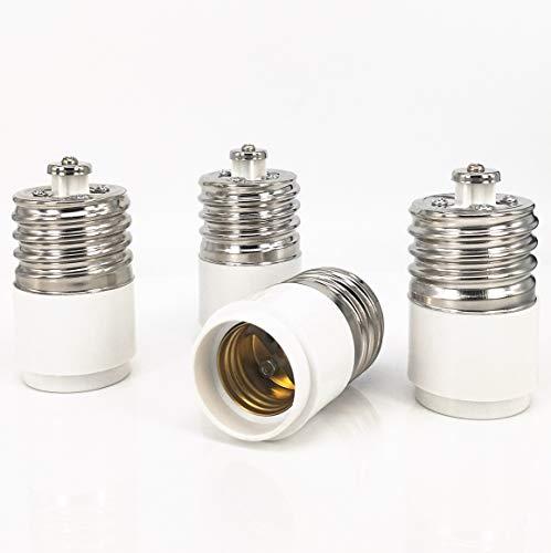 ZDCDJ - Adaptador E40 a E27 para lámparas incandescentes, LED, halógenas y...
