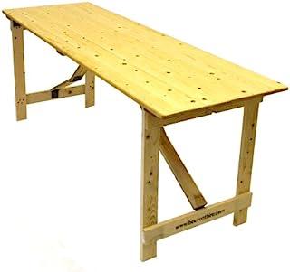 BE Furniture 6' x 2'6'' Wood