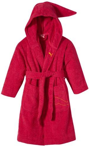 PUMA Kinder Bademantel Foundation Bathrobe, Virtual pink, 140, 510535 03