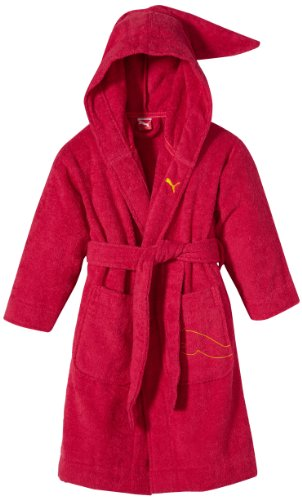 PUMA Kinder Bademantel Foundation Bathrobe, Virtual pink, 140, 510535 03