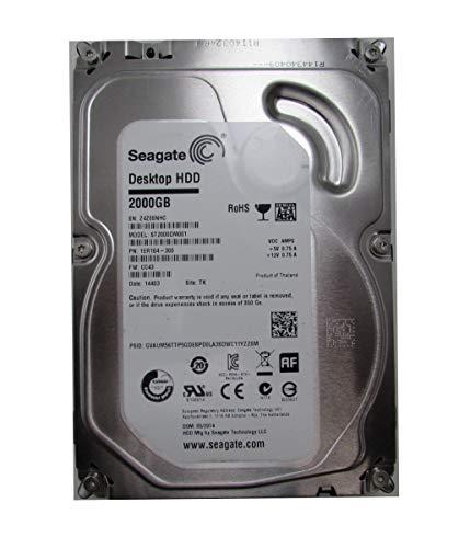 Seagate ST2000DM001 - Disco Duro SATA III (2 TB)