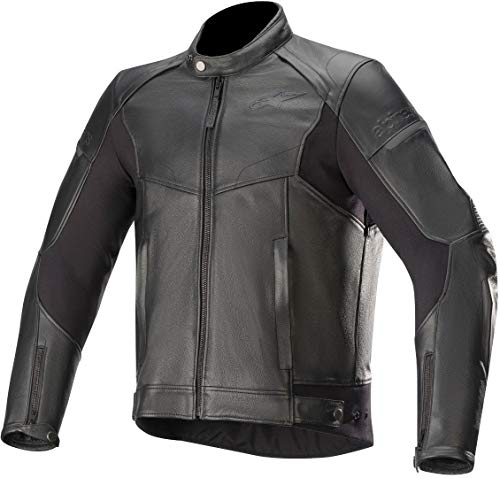 Alpinestars Chaqueta moto Sp-55 Leather Jacket Black, BLACK, 54