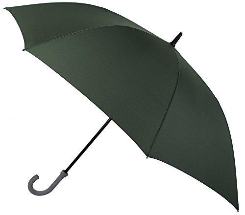 Resistente y fiable, así es Nuestra colección de Paraguas VOGUE de Golf. Paraguas XXL de Gran Cobertura. Tiene Apertura automática, es antiviento y con Acabado Teflón. (Verde Oscuro)