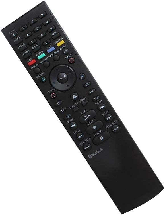 Replacement Remote Easy-to-use Control for Sony BD Media Max 70% OFF Blu-r Bluetooth PS3