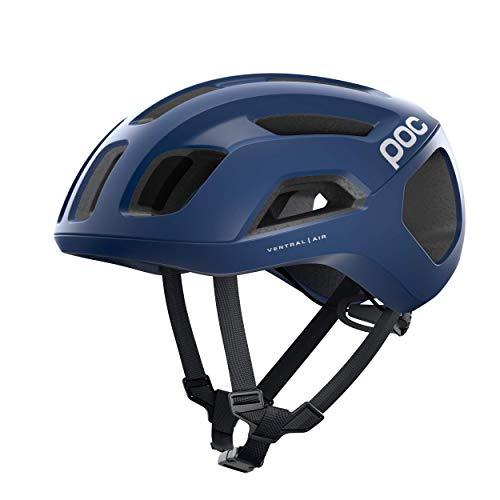 POC Casco de Ciclismo Unisex para Adultos, Ventral Air Spin, Lead Blue...