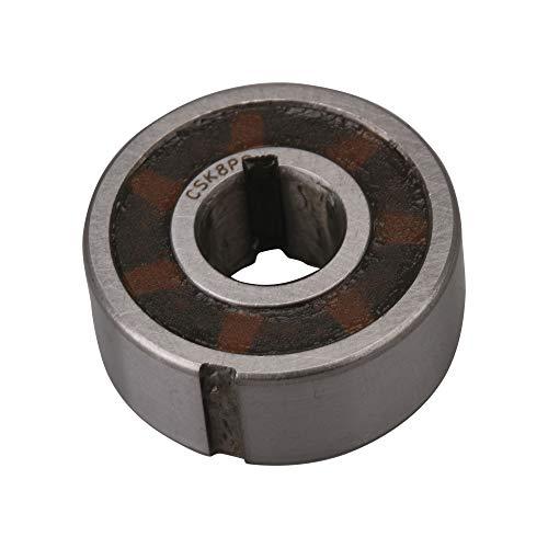 BQLZR 8 x 22 x 9 mm Largeur de fente 2 mm 2 mm CSK8PP Roulement à sens unique en acier avec clavette interne et externe Sprag roue libre Backstop Embrayage