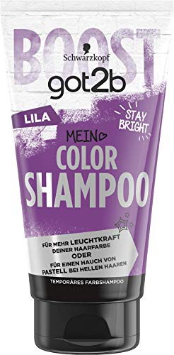 SCHWARZKOPF GOT2B Color Shampoo Lila, 1er Pack (1 x 150 ml)