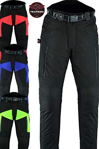 Texpeed XTRA - Wasserdichte Motorradhose - Mit Schutz - in 4 Farben und verschiedenen Größen