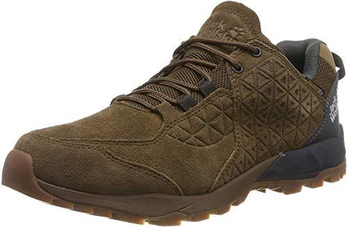 Jack Wolfskin Cascade Hike Lt Texapore M, Zapatos de Low Rise Senderismo Hombre, Dark Wood/Phantom 5691, 43 EU