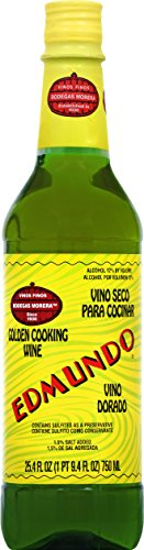 Edumundo Golden Cooking Wine, 25.4 oz
