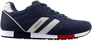 Lescon L-6540L Sneakers Büyük Numara Erkek Spor Ayakkabı LACIVERT