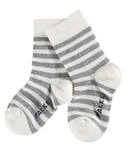 Falke - Calcetines para bebé, talla 62 (62/68) - talla alemana, color blanco crudo (off-white)