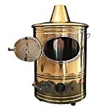 HELOU Cage D'incinérateur De Baril De Combustion en Acier Inoxydable Foyer De Jardin en Métal Cage D'incendie De Jardin Corbeille D'incinérateur De Brûlure De Débris avec Support De Grille