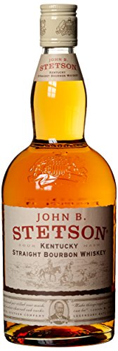 Stetson John B. Straight Bourbon Whisky (1 x 0.7 l)