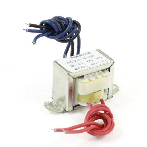 Aexit EI-4120 Modello 220V 50Hz Ingresso 8VA AC Dual 18V Uscita Trasformatore elettrico ID: 677311