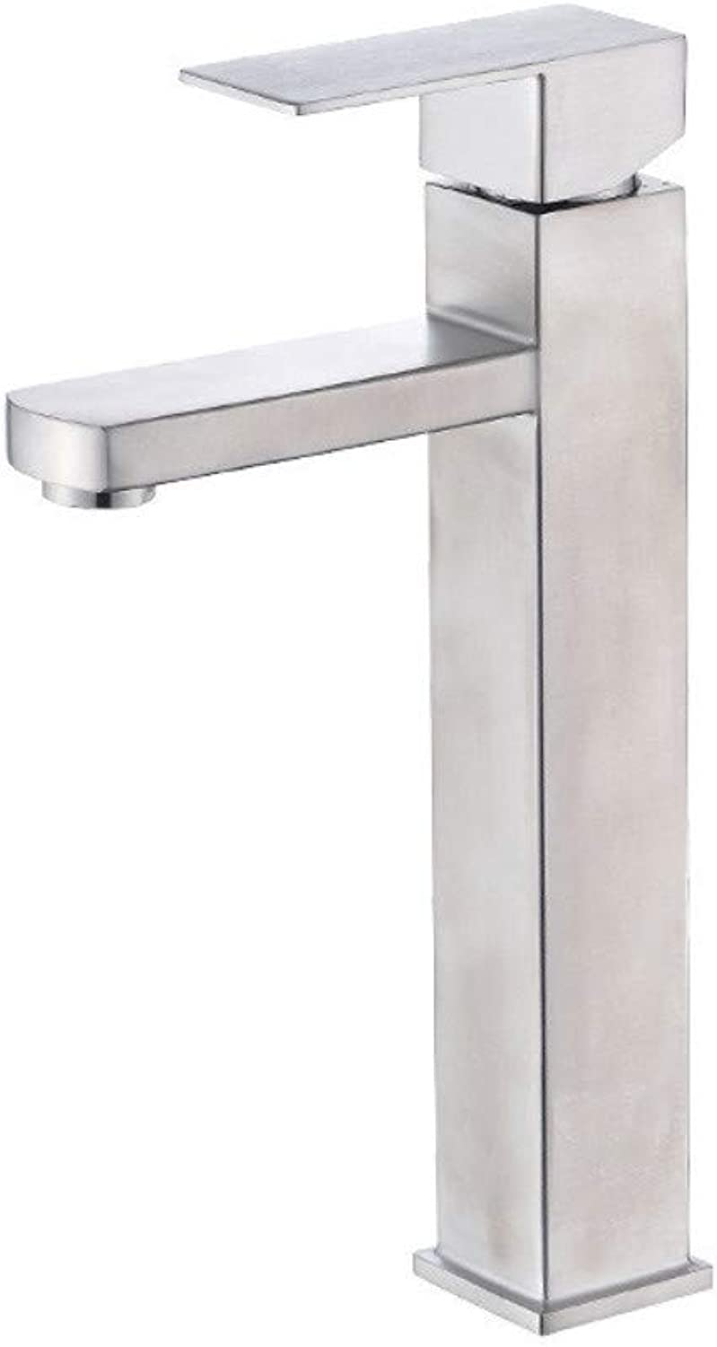 XPYFaucet Washbasin?Hot And Cold Square Faucet Bathroom Cabinet Basin Mixing Valve