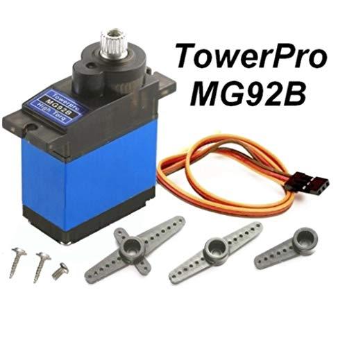 Yongse TowerPro MG92B Roboter 13,8 g 3,5 kg Drehmoment mentale Ausrüstung Digital Servo