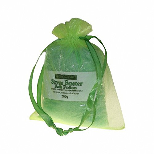 Stress Buster Bath Potion - Bergamot Geranium & Vetiver - 200gr