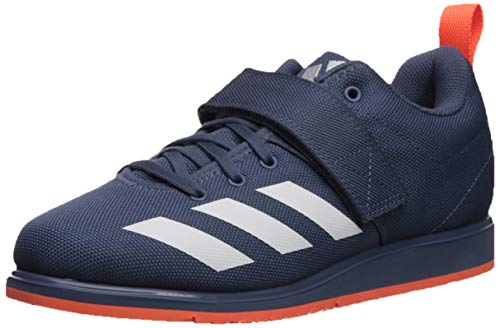 adidas Women's Powerlift 4 Cross Trainer, tech Ink/White/hi-res Coral, 12.5 M US