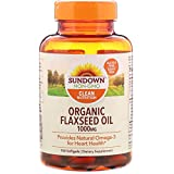 Sundown Naturals Flaxseed Oil 1000 Mg, 100 Count