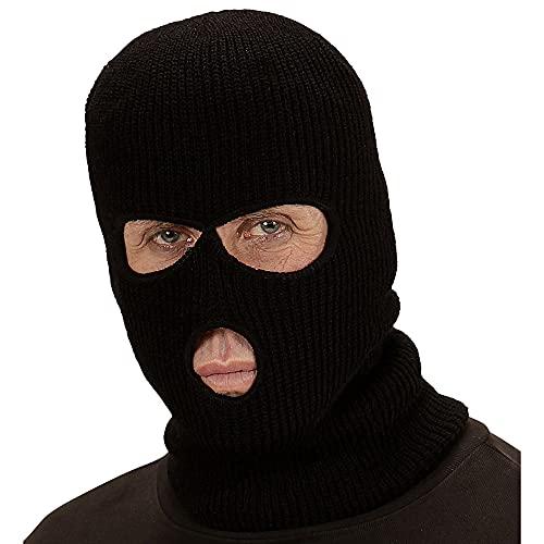 Widmann WDM03318 Maske Sturmhaube, Schwarz, One Size