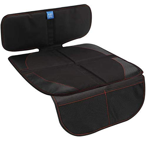 Funbliss Car Seat Protector for Child Car Seat - Auto Seat Cover Mat for Under Carseat with Thickest...