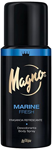Magno - Desodorante Spray Marine - Fragancia Refrescante - 1 ud de 150ml