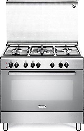 DeLonghi DEMX 96 cucina Piano cottura Acciaio inossidabile Gas A