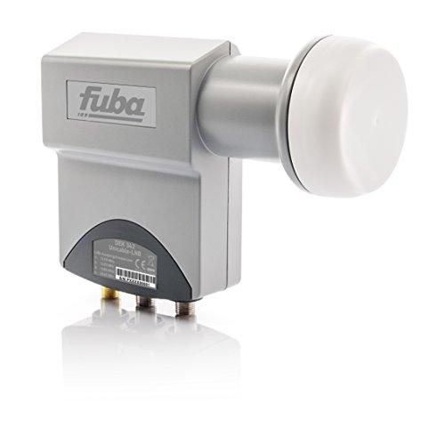 Fuba DEK 342 Uni-Kabel LNB Testsieger 4-Teilnehme HDTV 3D 4K grau