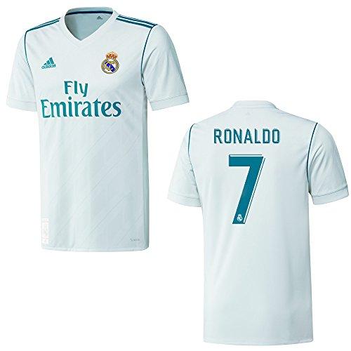 adidas REAL Madrid Trikot Home Herren 2018 - Ronaldo 7, Größe:XL