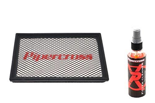 Pipercross Luftfilter+Reiniger kompatibel mit Seat Leon III 5F 2.0 TDi 110/143/150/177/184 PS 11/12-