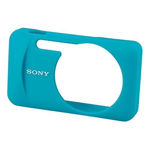 Sony LCJ-WB Weiche Silikontasche für W/WX-Serie blau