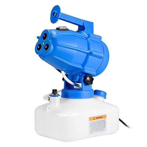 Kacsoo Nebulizzatore Elettrico ULV Atomizzatore Portatile 5L Nebulizzatore per pesticidi Cavo di Alimentazione 5M Distanza di spruzzo 10M per Indoor Outdoor Garden Home Hotel School 1200W