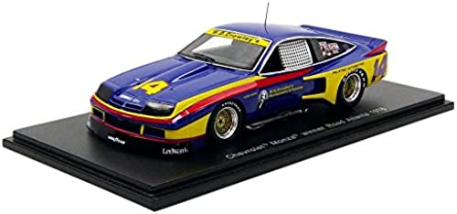 tienda de ventas outlet Spark Monza Winner IMSA IMSA IMSA 1976Chevrolet, S0860, azul amarillo rojo, en Miniatura (Escala 1 43  promociones emocionantes