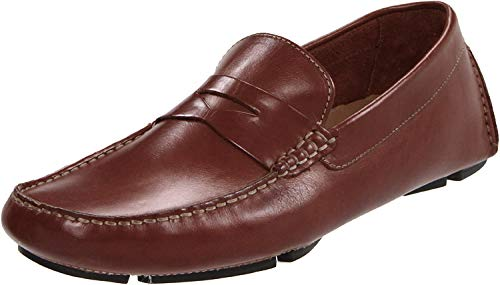 Cole Haan Men's Howland Penny, Saddle Tan, 12 W US