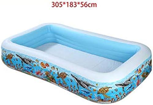Familien-Pool-Baby-Größes erwachsenes Unendlichkeits-aufblasbares Pool im Freien kommerzielles S lingskind, das Pool badet (Farbe   H)